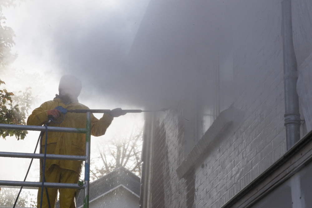 pressure cleaning services, apply to brick surfaces, siding, roof washing, soft wash,